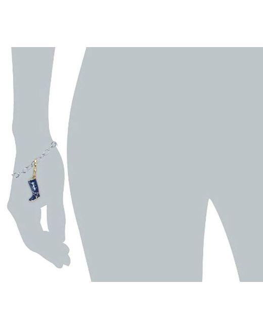 Juicy Couture - Metallic Blue Rain Boot Charm - Lyst
