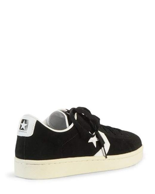 Converse Pro Leather Ox in Black for Men Lyst
