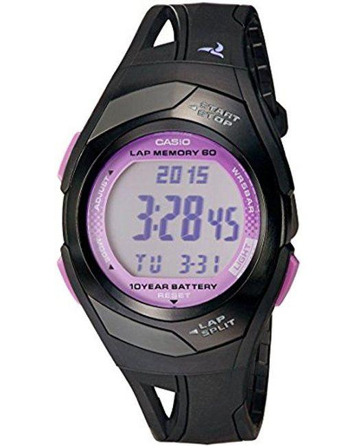 G-Shock - Multicolor Str300-1c Sports Watch - Black & Pink - Lyst