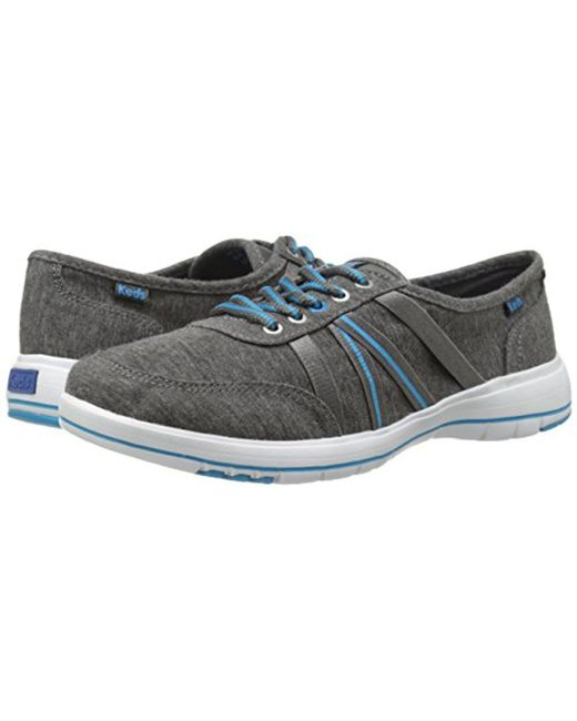 ... Keds - Gray Lite Fuse Lace-up Sneaker - Lyst ...