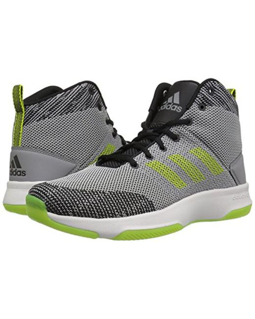 lyst adidas neo di esecutore metà scarpe da basket per uomini in grigio.