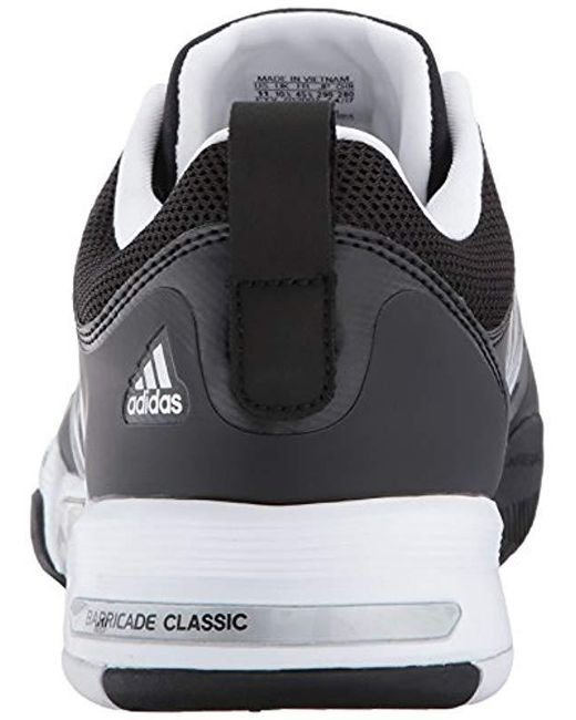713b7d662bc ... Adidas - Metallic Barricade Classic Wide 4e Tennis Shoe for Men - Lyst  ...