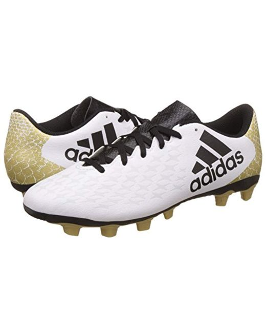 9ee9b57a7 ... Adidas - White X 16.4 Fxg Football Boots for Men - Lyst ...
