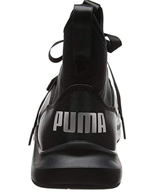 ... Lyst PUMA - Black  s Phenom Satin Ep Wn s Cross Trainers ... 17bb0be38