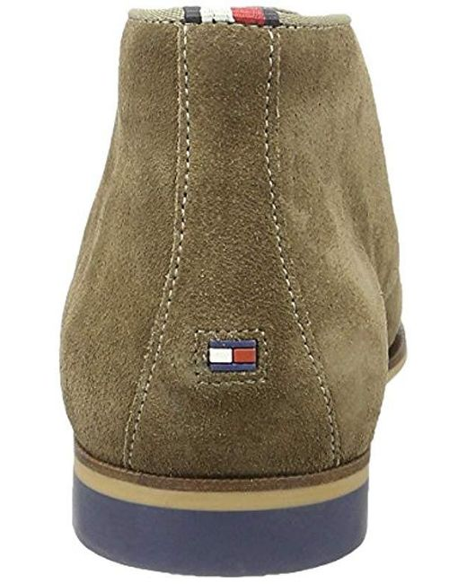 c6b779dbe856e ... Tommy Hilfiger - Multicolor Casual Dressy Suede Boot Oxfords for Men -  Lyst ...