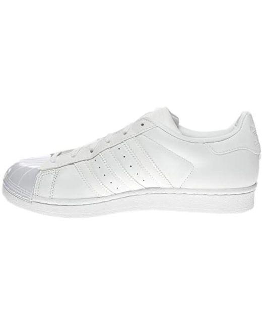 new style 2ceea 612c5 ... Adidas Originals - White Superstar Glossy Toe Fashion Running Shoe -  Lyst ...