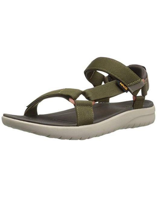 7c7cd13001b3 Teva - Green Sanborn Universal Sports And Outdoor Lifestyle Sandal for Men  - Lyst ...