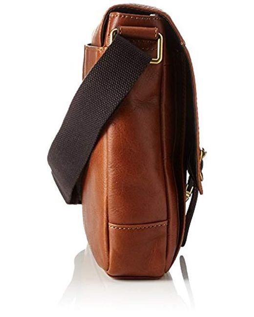 2feb02d0fbc0b Fossil - Brown Herren Defender Business Tasche