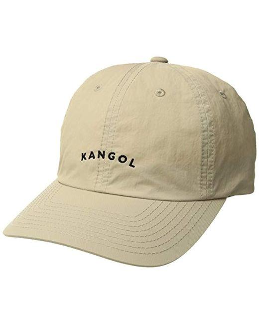 e0d6ee3f402 Lyst - Kangol Vintage Baseball Dad Cap in Natural for Men - Save ...