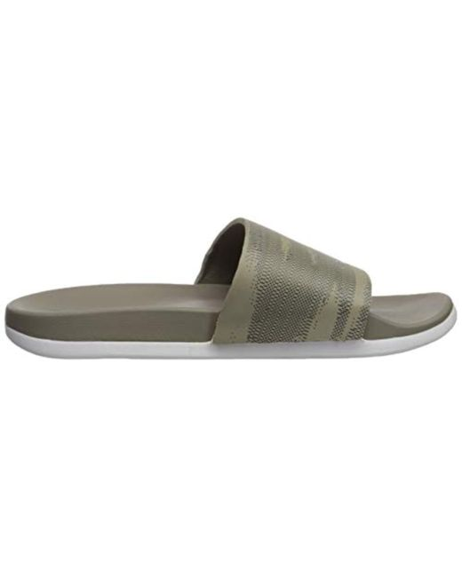 76a58ac27347 ... Adidas Originals - Multicolor Adidas Adilette Comfort Slide Sandal for  Men - Lyst ...