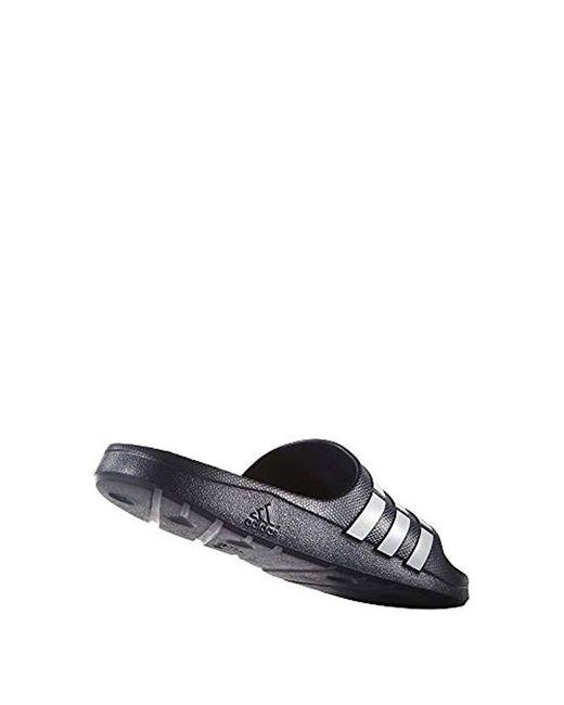 7c4d1cf3bf4 ... Adidas - Blue Duramo Slide