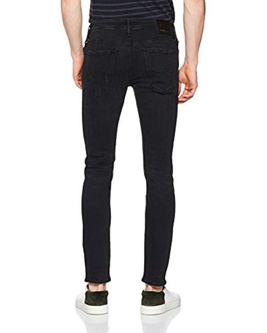 68b789cf9 ... Tommy Hilfiger - Black Simon Skinny Jeans for Men - Lyst ...