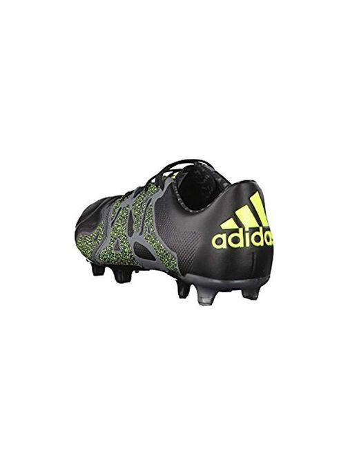 f939e74c02ce ... Adidas - Black X15.1 Fg ag Leather