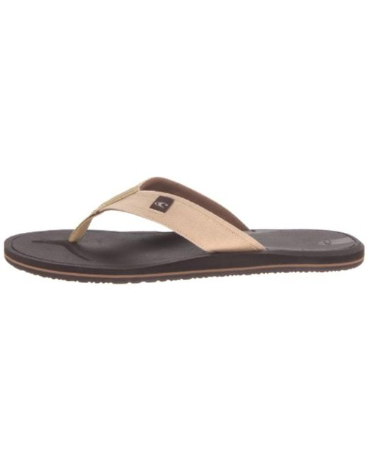 b397ffbad4d85 Lyst - O neill Sportswear Shoes Nacho Libre 2 Flip Flop in Brown for Men
