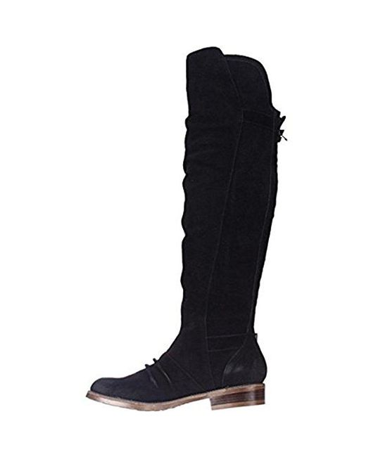 Kensie - Stella Over-the-knee Boots - Black Suede - Lyst