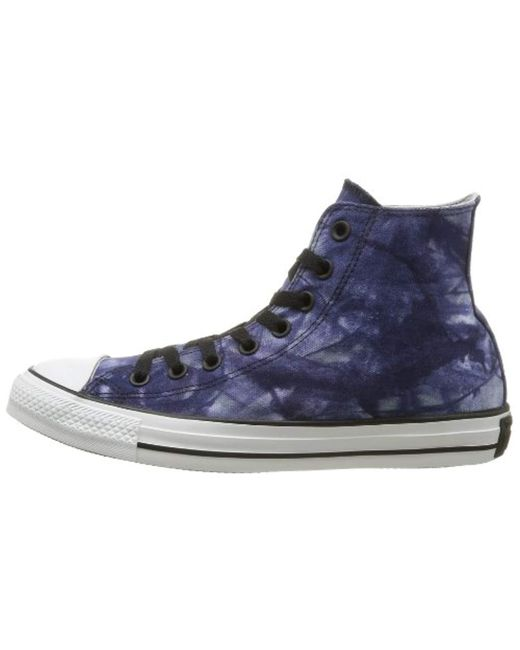 03c98c4abd3765 ... Converse - Blue Unisex-adult Chuck Taylor All Star Tie Dye Hi-top  Trainers ...