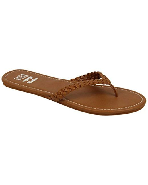 Billabong Brown Beach Braid Sandals Footwear