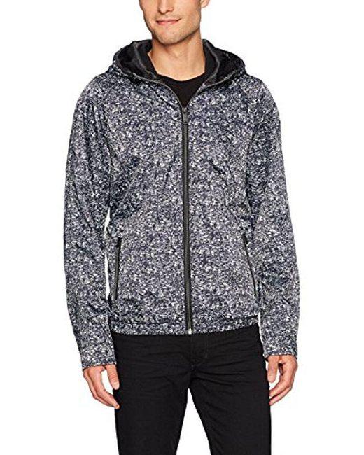 Calvin Klein - Black Jeans Gravel Nylon Track Jacket for Men - Lyst