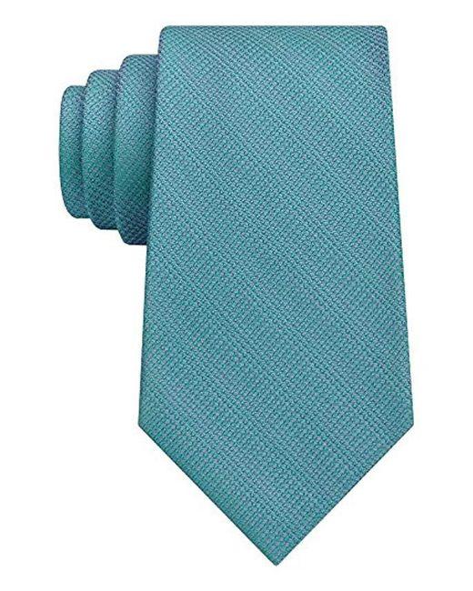 Calvin Klein - Blue Solstice Solid Tie for Men - Lyst