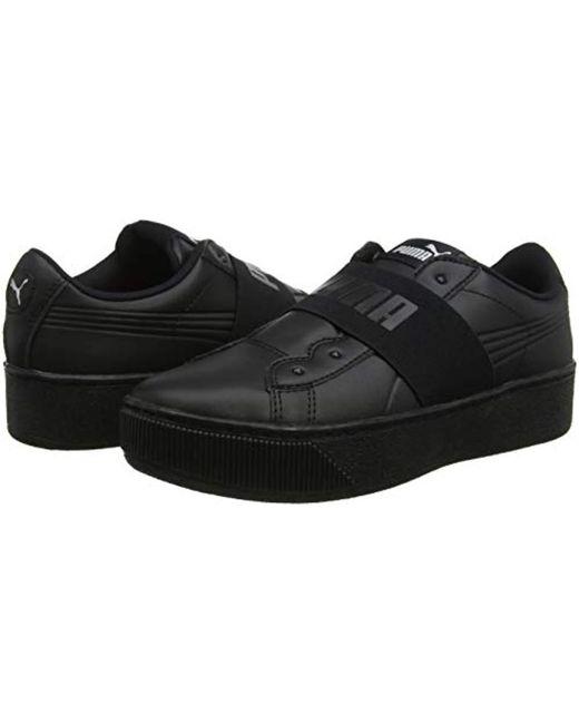 shop best sellers large discount best wholesaler PUMA Vikky Platform Elastic Low-top Sneakers in Black - Lyst