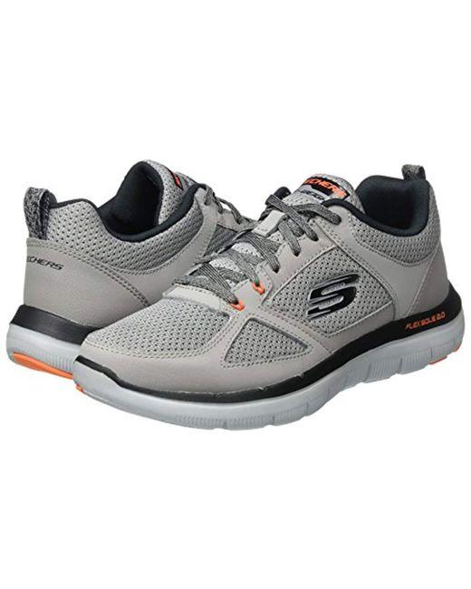 34800045 ... Skechers - Gray 's Flex Advantage 2.0 Multisport Outdoor Shoes for Men  ...