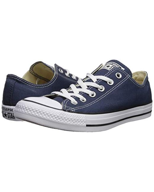 84e2efc7338b ... Converse - Blue Unisex Chuck Taylor As Double Tongue Ox Lace-up for Men  ...