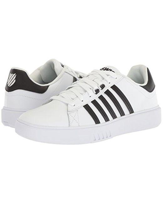 PERSHING COURT CMF - Sneaker low - white/black Billig Für Billig lgidMf