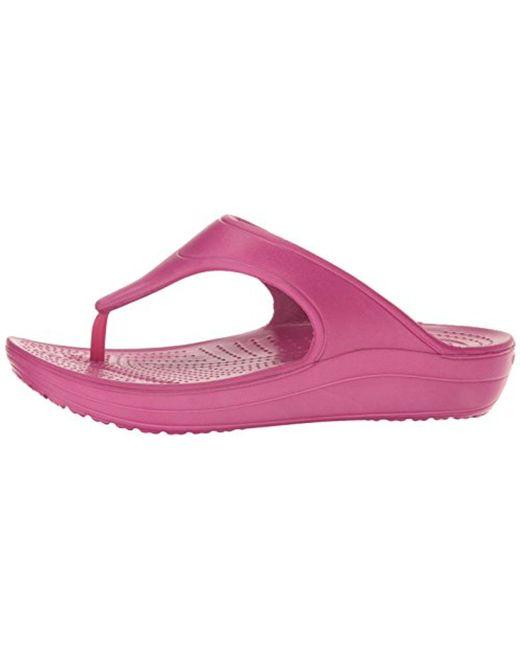 e682d490866 ... Crocs™ - Multicolor Sloane Platform Flip-flop - Lyst ...