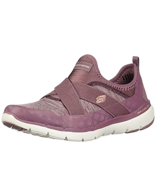 c829e304845 Skechers - Purple Flex Appeal 3.0-finest Hour Slip On Trainers - Lyst ...