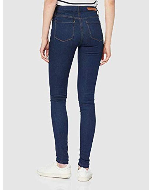 2f85ee2450 ... Tommy Hilfiger - Blue Th Ess Como Skinny Rw Joslyn Jeans - Lyst ...