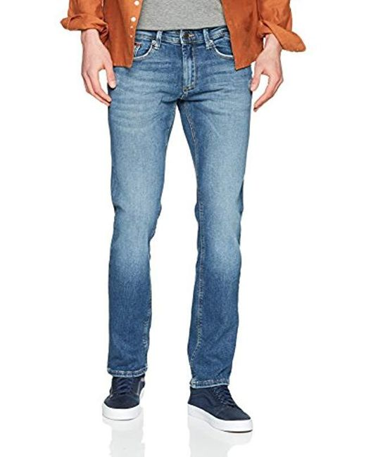 14977716f Tommy Hilfiger - Blue Slim Jeans for Men - Lyst ...