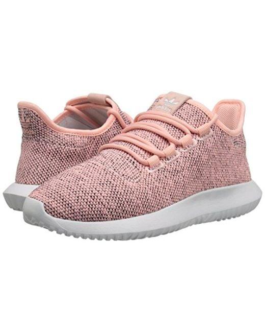 Lyst adidas originali tubulare ombra w moda scarpe rosa