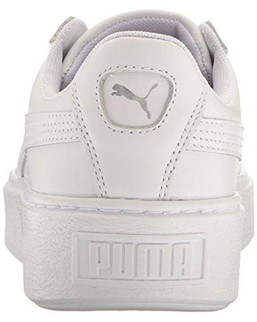 442b77244d93 ... PUMA - White Basket Platform Iridescent Field Hockey Shoe - Lyst ...