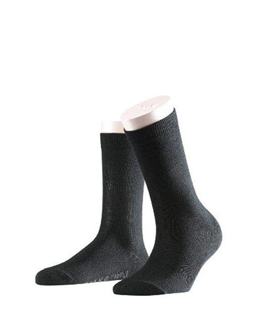 Falke - Black Family Cotton Socks - Lyst