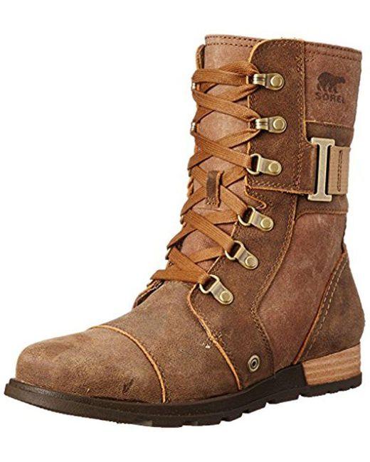 Sorel - Brown Major Carly Snow Boot - Lyst
