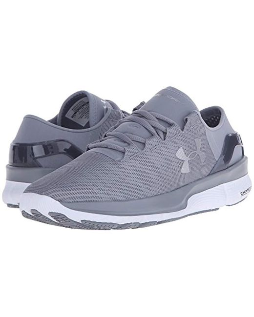 Under Armour Womens Charged Pivot Low Neutral Sneaker Shoe Steel Grey Size 11 M