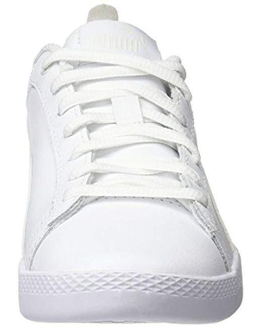 informacje dla Nowe Produkty ogromny wybór Women's White Smash Wns V2 L Low-top Trainers