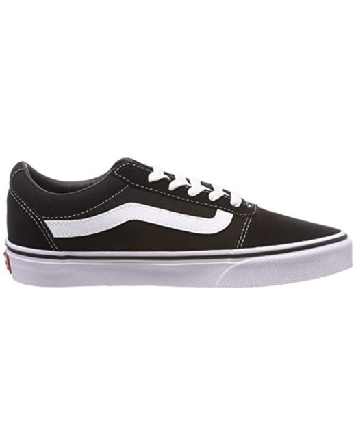 ... Vans - Black Ward Suede Canvas 0459a4168e3