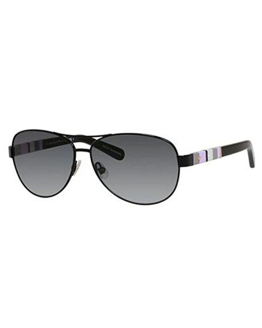 Kate Spade - Black Kate Spade Dalia Aviator Sunglasses - Lyst