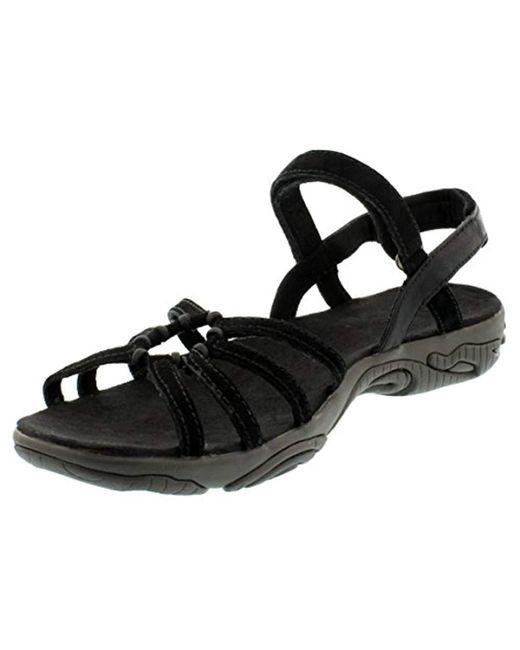 66b2ddf9e57 Teva - Black Kayenta Suede Sports And Outdoor Lifestyle Sandal - Lyst ...