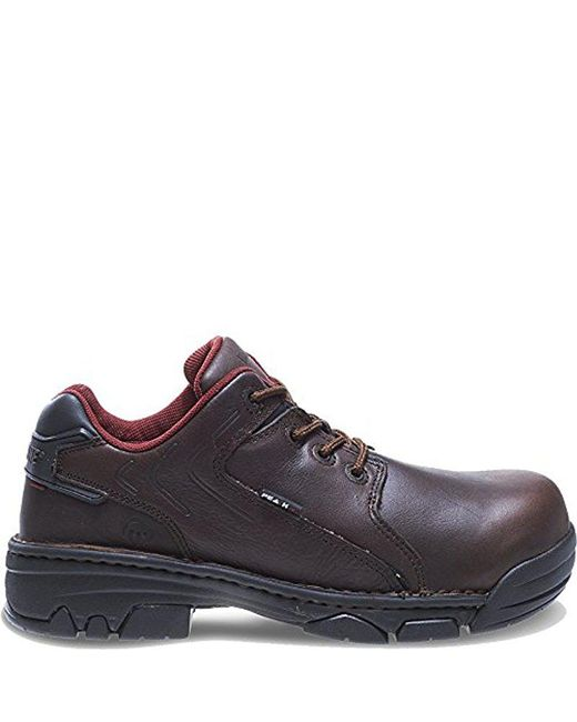 Wolverine Brown W02372 Falcon Oxford Safety Shoe for men