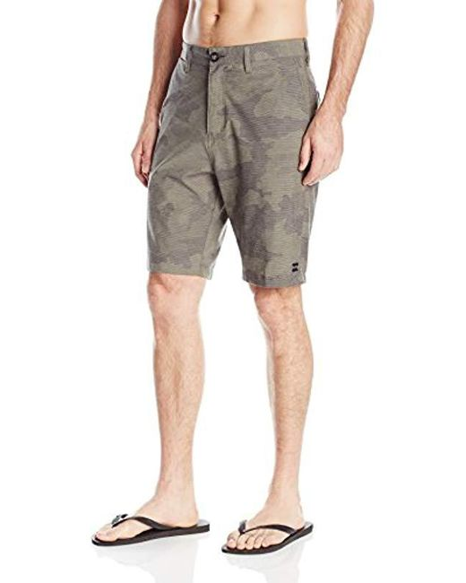 Billabong - Gray Crossfire X Submersible Short for Men - Lyst