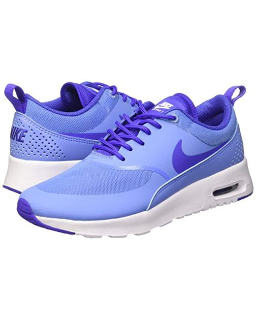 brand new 8cc3c 52a12 ... Lyst Nike - Blue s Air Max Thea Low-top Sneakers ...