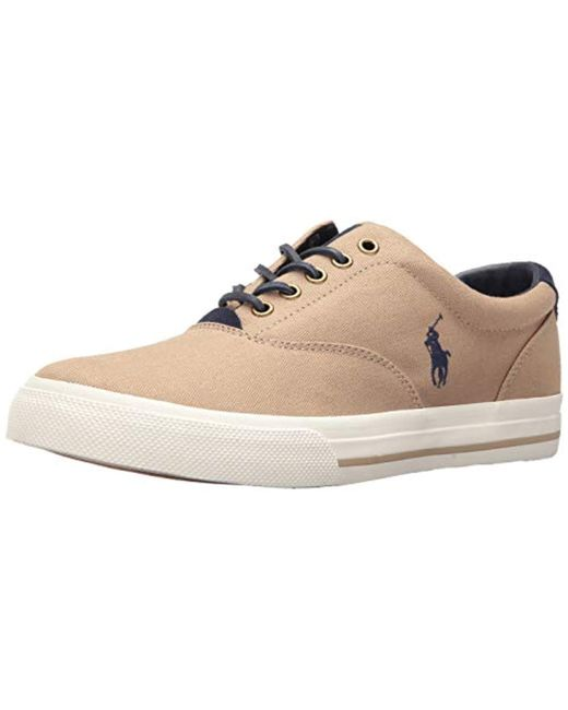 Polo Ralph Lauren - Natural Vaughn-sk Sneaker for Men - Lyst