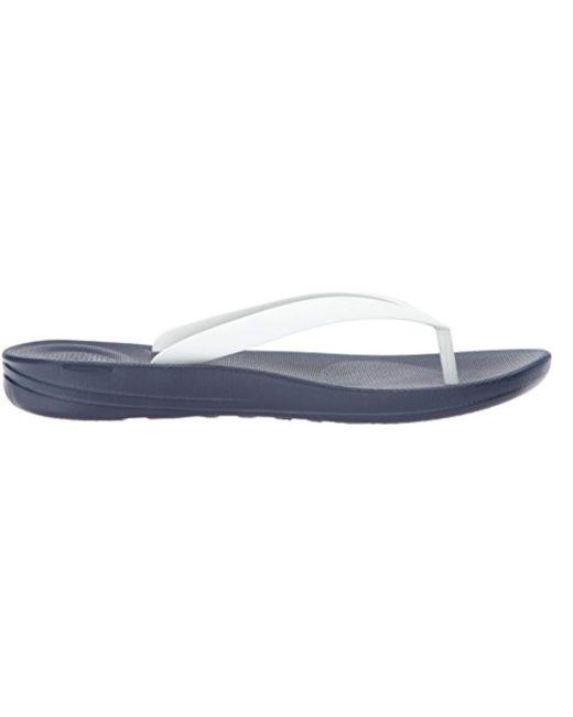 ef219a444 ... Fitflop - Blue Iqushion Ergonomic Flip-flops Open Toe Sandals for Men -  Lyst ...