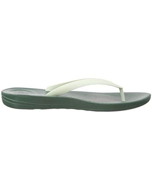 a2b1e2f1b ... Fitflop - Green Iqushion Ergonomic Flip-flops Open Toe Sandals for Men  - Lyst ...
