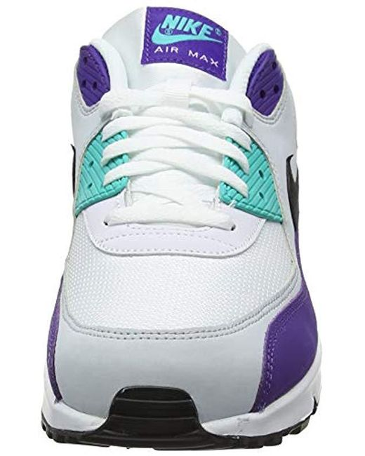 on sale c04a4 0e76d ... Nike - Air Max  90 Essential Shoe Gymnastics, Multicolour (white black   ...