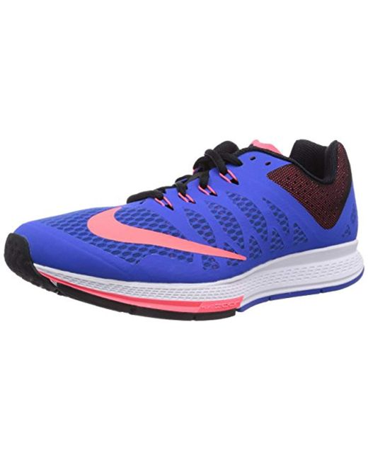 82ccf9315b72 Nike - Blue Mens Air Zoom Elite 7 Running Shoes for Men - Lyst ...