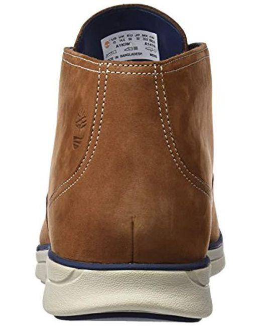 ... Timberland - Brown  s Bradstreet Plain Toe Sensorflex Chukka for Men ... 24a5898169d