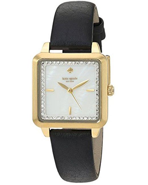 Kate Spade - Black S Washington Square Watch - Ksw1169 - Lyst